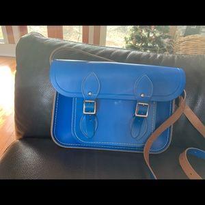 The Cambridge Satchel company - bright blu…